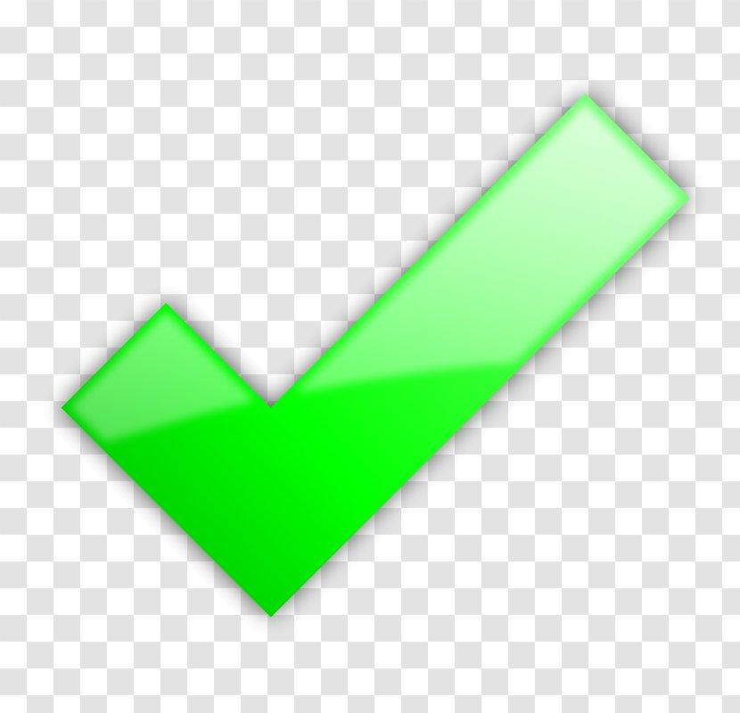Check Mark Clip Art - Green Tick Transparent PNG