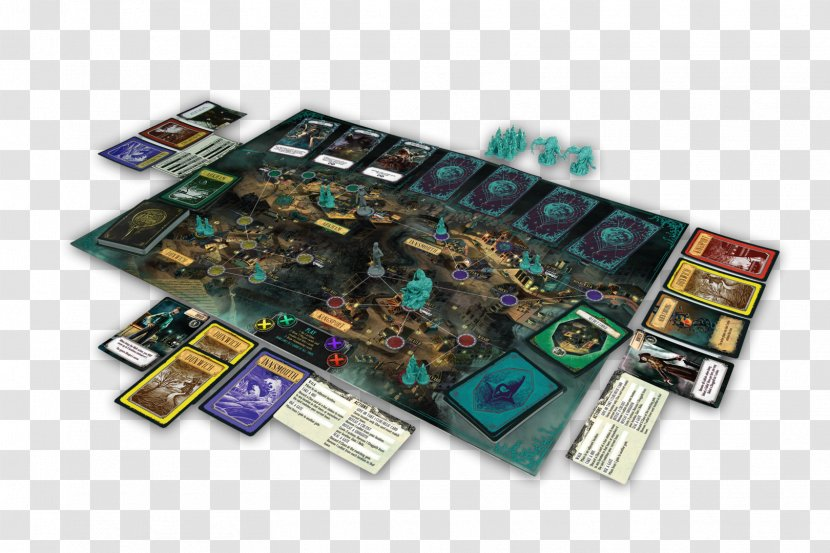 Pandemic Call Of Cthulhu: The Card Game Cthulhu Dark Corners Earth - Electronic Component - Motherboard Transparent PNG