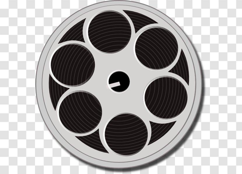 Film Reel Cinema Clip Art - Hollywood Transparent PNG