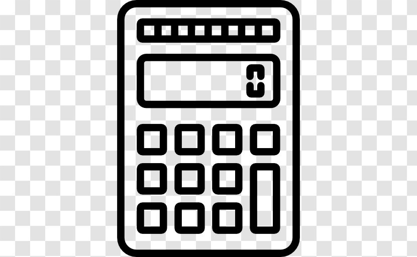 Calculator Clipped Rev - Calculator Clipart Png, Transparent Png - vhv
