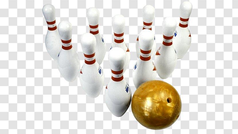 Bowling Pin Ten-pin Balls Strike Transparent PNG