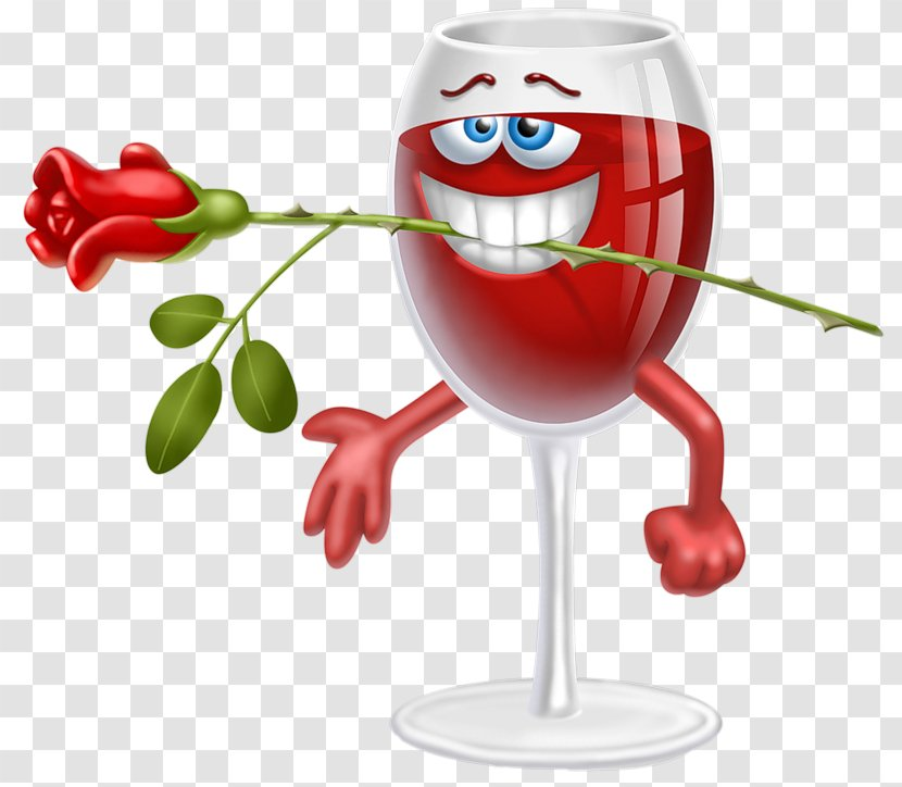 Wine Emoticon Smiley Clip Art - Tableware Transparent PNG