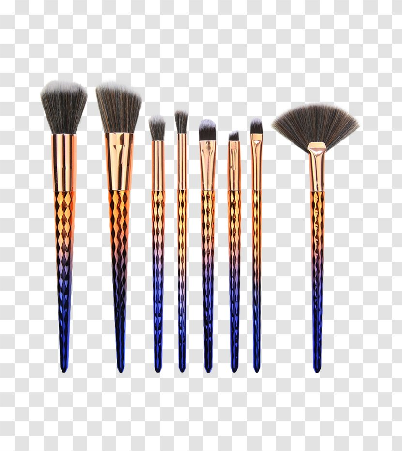 Make-Up Brushes Cosmetics Eye Shadow Paint - Tool - Hair Care Tools Sets Transparent PNG