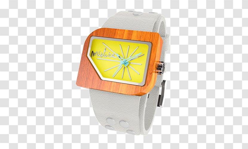 Watch Strap Teak Yellow - Brand Transparent PNG