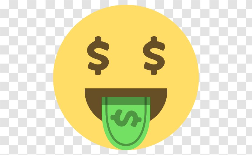 Emoji Dollar Sign United States Money Text Transparent Png