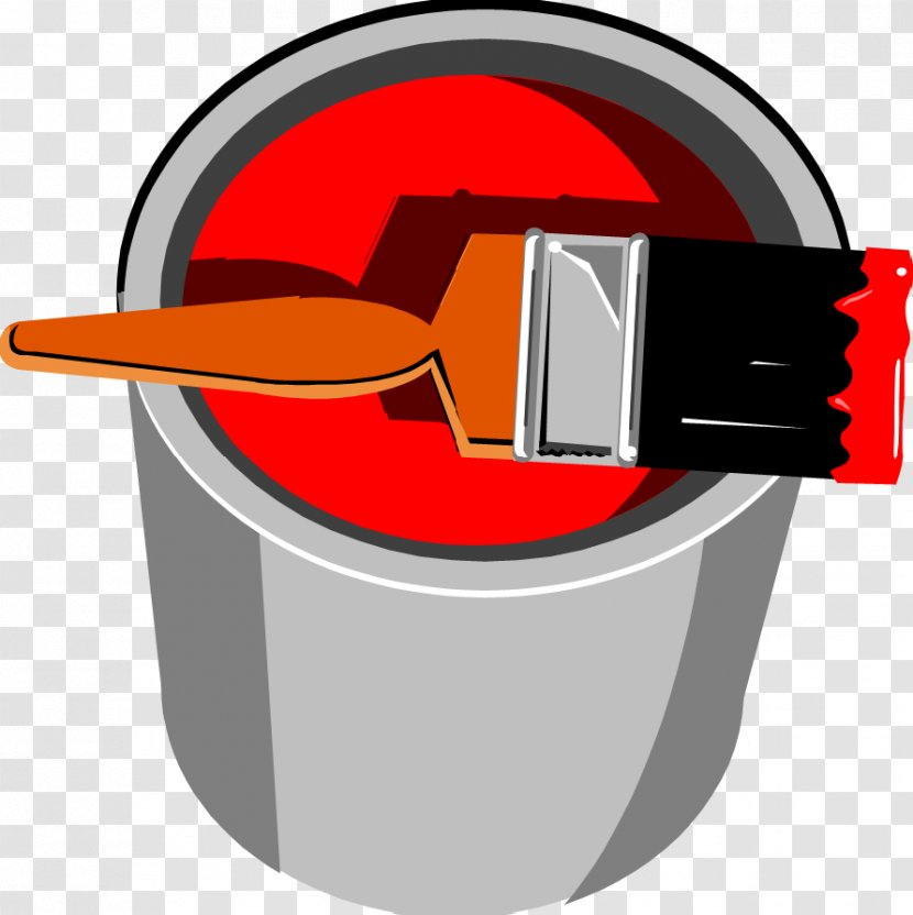 Painting Intensive And Extensive Properties Pigment - Paint Bucket Transparent PNG