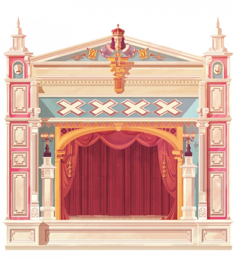 Stage Scenic Design Scenography Transparent Png