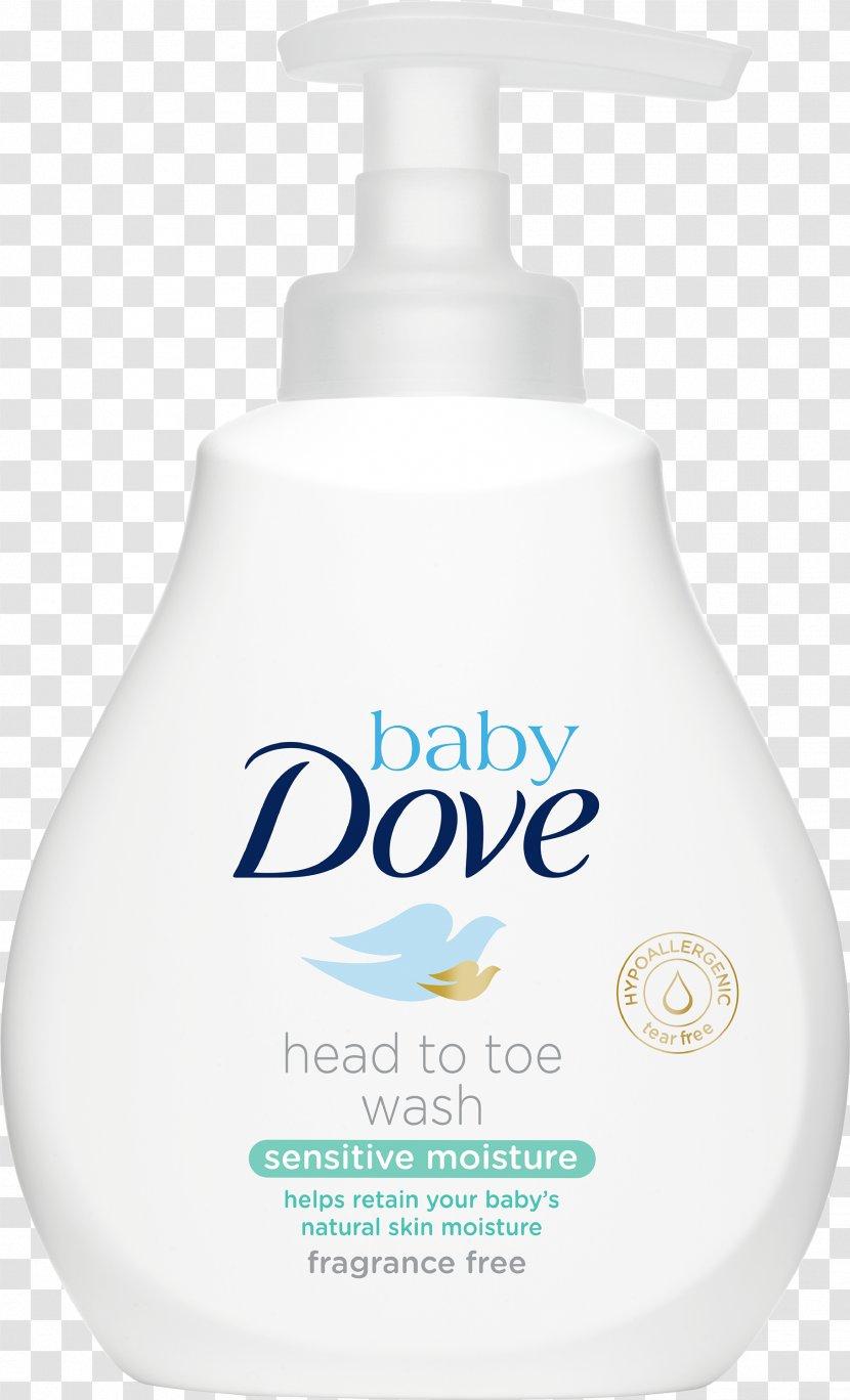 Dove Baby Rich Moisture Nourishing Lotion Shampoo Sensitive Transparent PNG