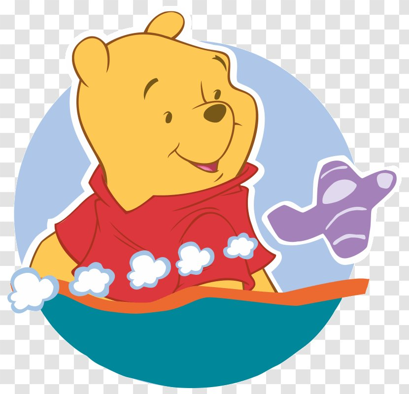 Winnie-the-Pooh - Cartoon - Winnie The Pooh Transparent PNG