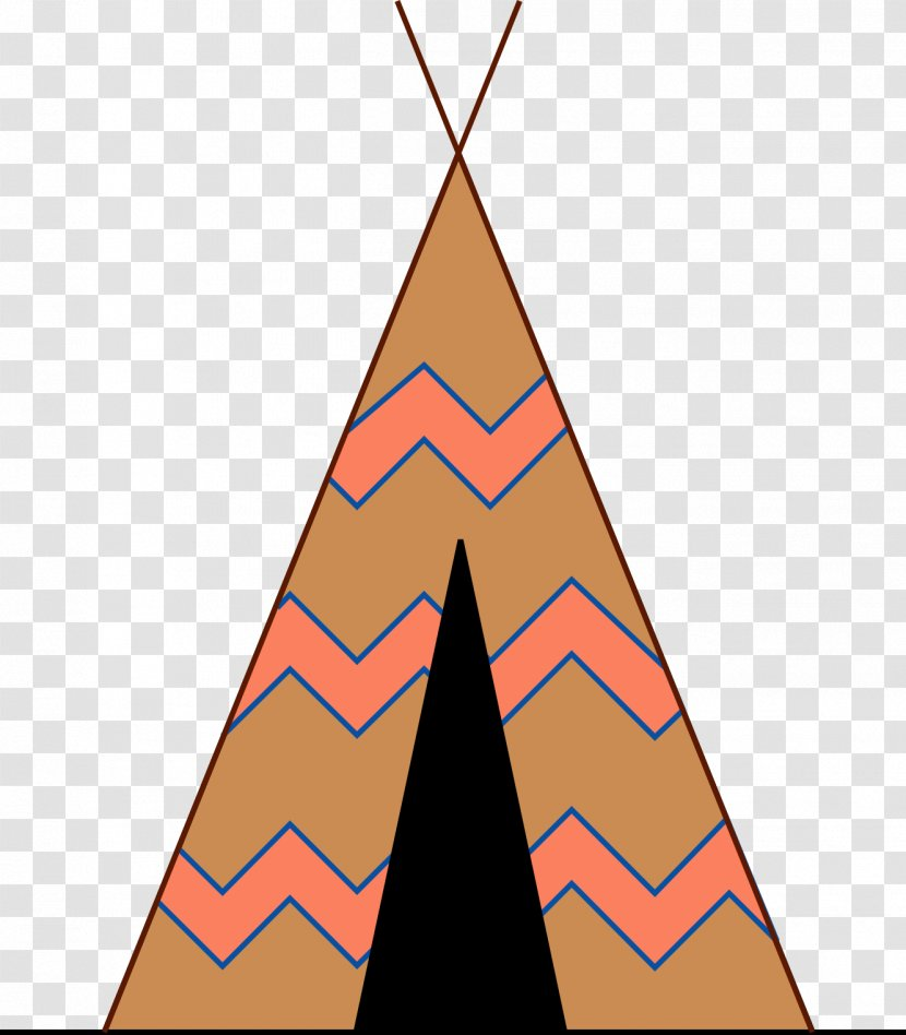 Tipi Native Americans In The United States Clip Art - Triangle - Teepee Cliparts Transparent PNG