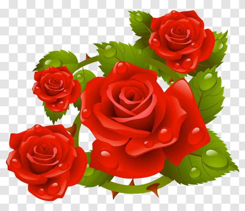 Red Roses Background Clip Art