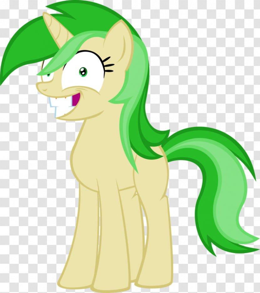 Pony Horse Green Clip Art Transparent PNG