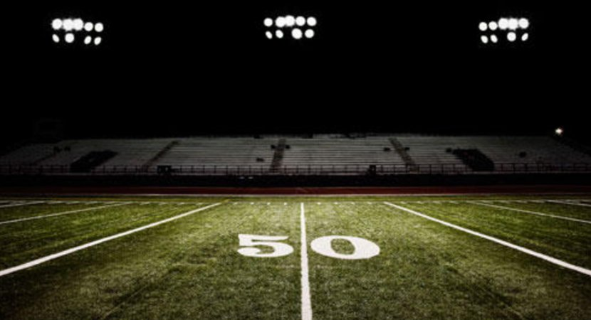 American Football Field Stadium Pitch High School - Friday Night Lights Transparent PNG