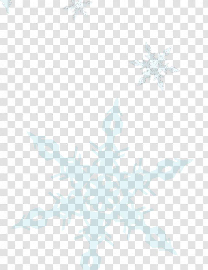 Blue Desktop Wallpaper Sky Pattern White Snow Flakes Transparent Png