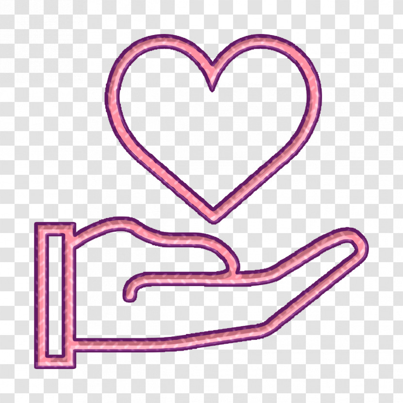 Like Icon Heart Icon Hand & Gestures Icon Transparent PNG