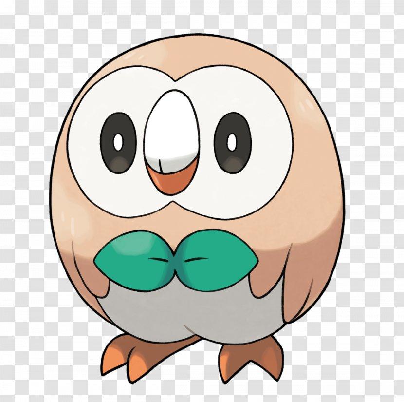 Pokémon Sun And Moon Rowlet The Company Pokédex - Cartoon - Owl Transparent PNG