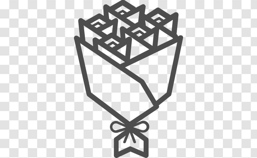Flower Bouquet Symbol Vector Icon Transparent Png