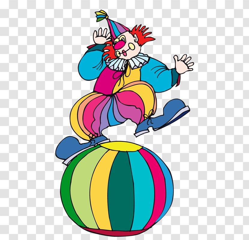 Joker Clown Circus Clip Art - Ei Transparent PNG