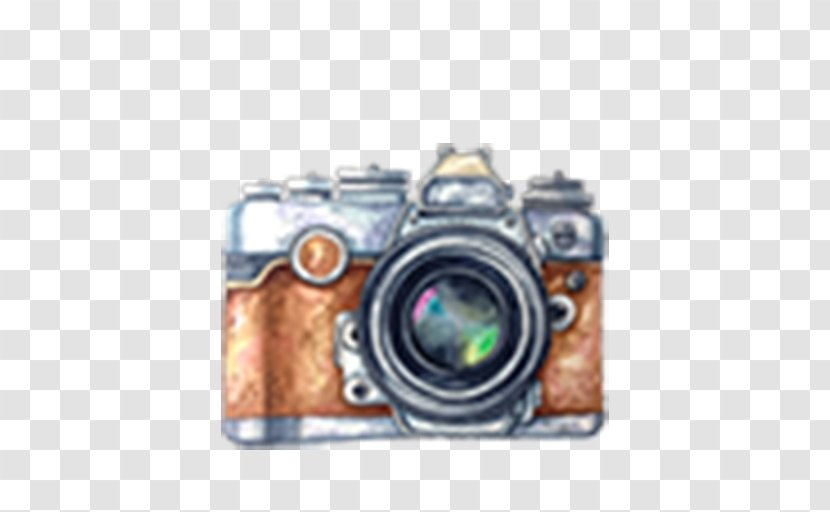 Camera Lens Watercolor Painting Drawing Stock Photography Transparent Png