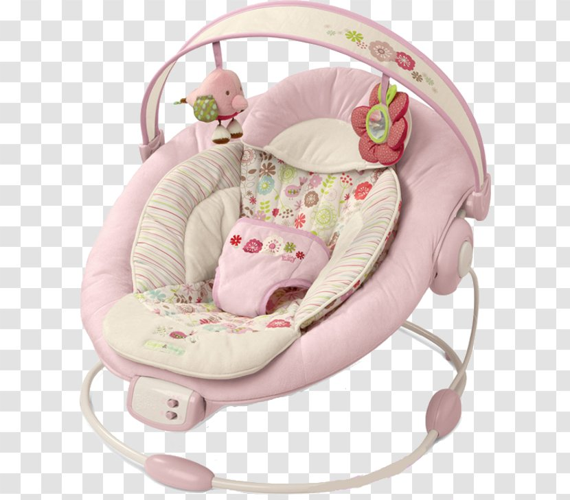 Comfort & Harmony Cradling Bouncer Baby Jumper Portable Swing Bright Starts - Toys Transparent PNG