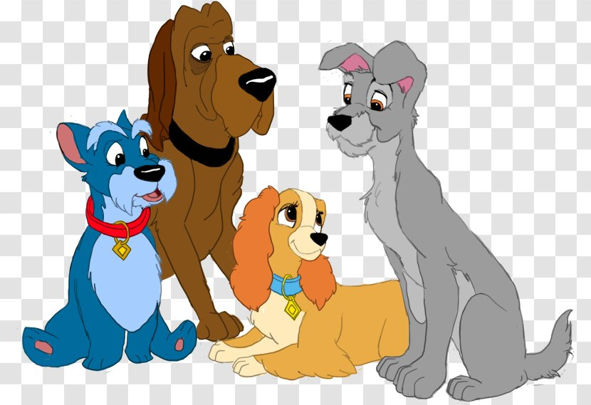 Lady And The Tramp Clip Art Drawing Great Dane Cartoon Transparent Png