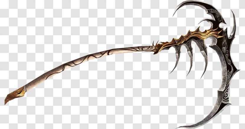 War Scythe Weapon Sword Transparent PNG