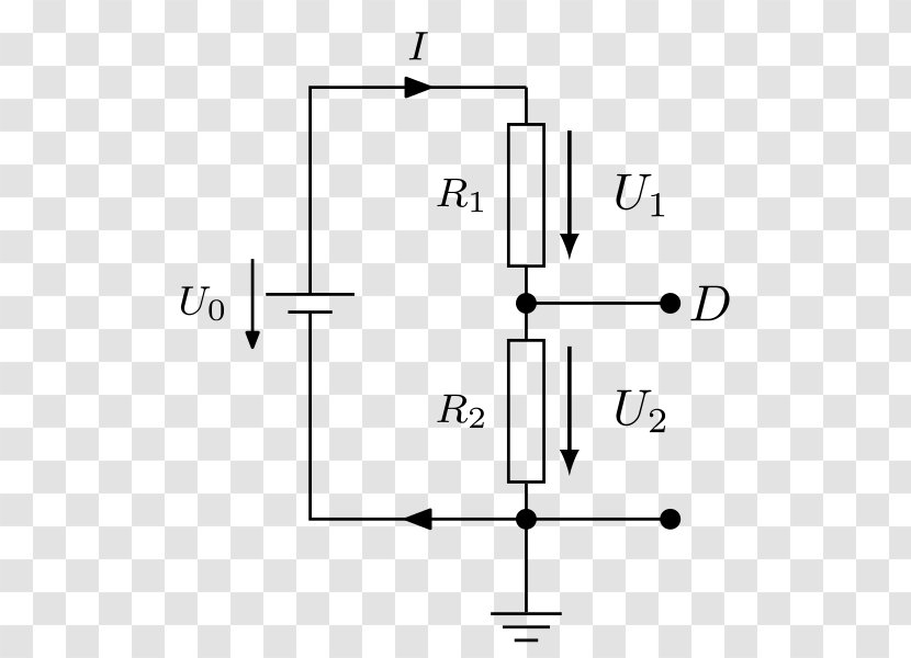 Voltage Divider Microcontroller Computer Electric Potential Difference /m/02csf Transparent PNG