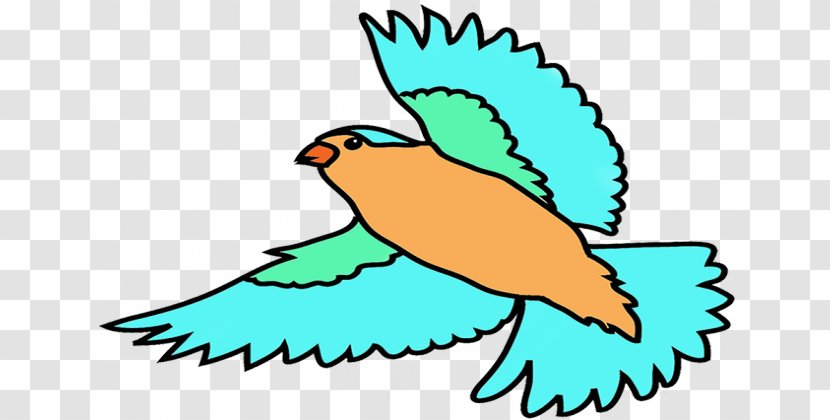 Bird Flight Hummingbird Clip Art - Tail - Birds Flying Cliparts Transparent PNG