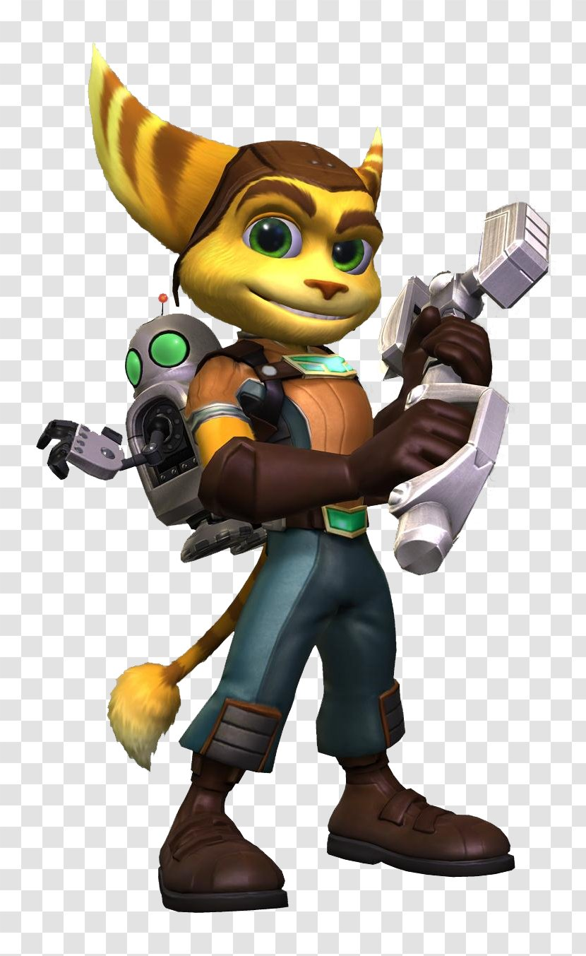 Ratchet Clank Future Tools Of Destruction Clank Full Frontal