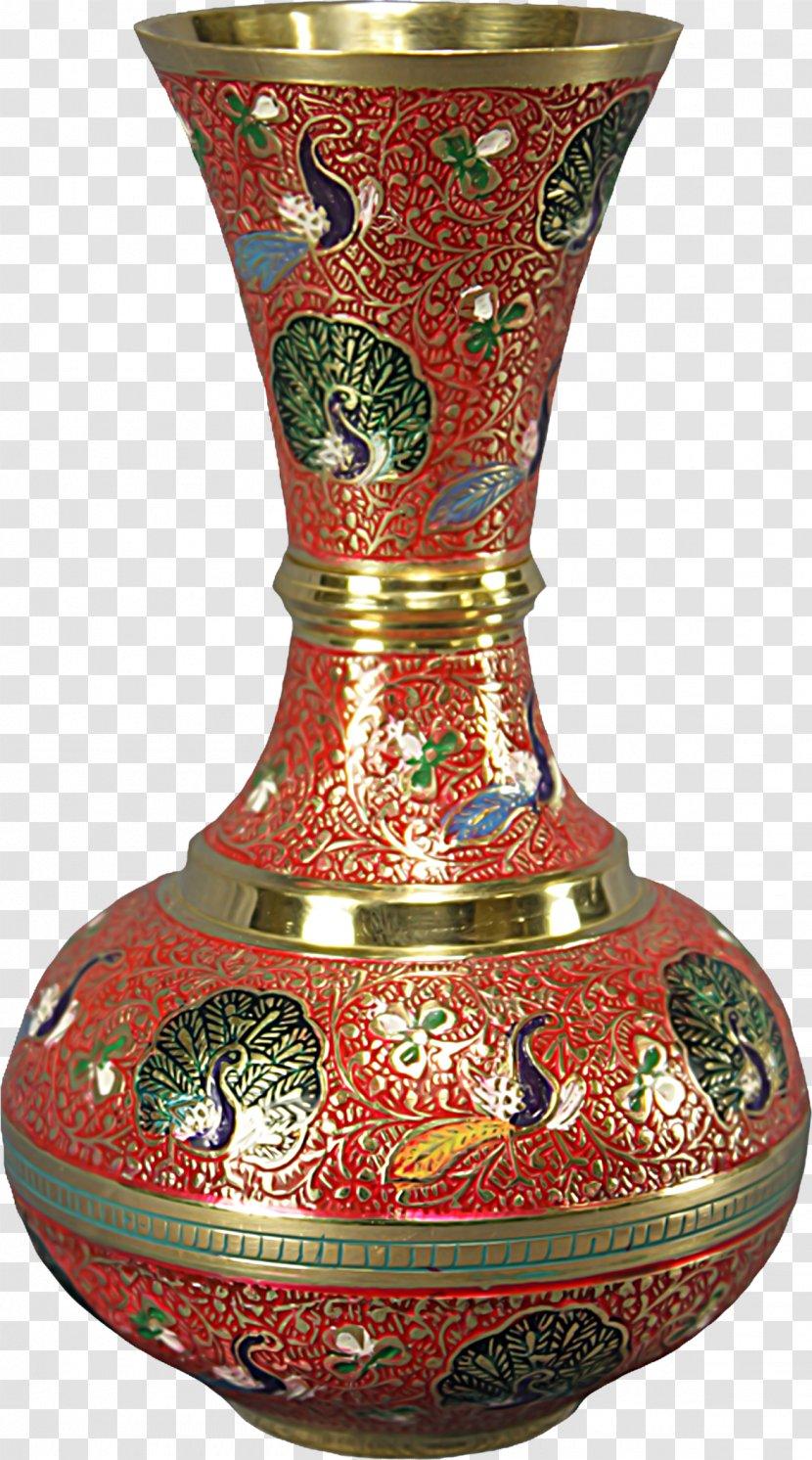 Vase Of Flowers Ceramic - Dubai Bottle Material Free To Pull Transparent PNG