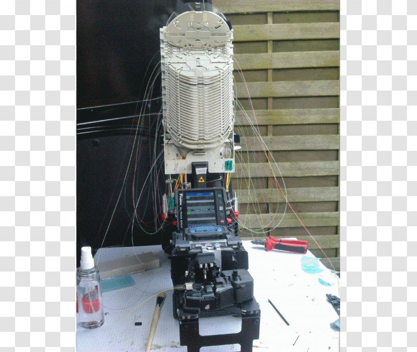 Glass Fiber Spleißen Optical Sleeve Machine - Instalation Transparent PNG