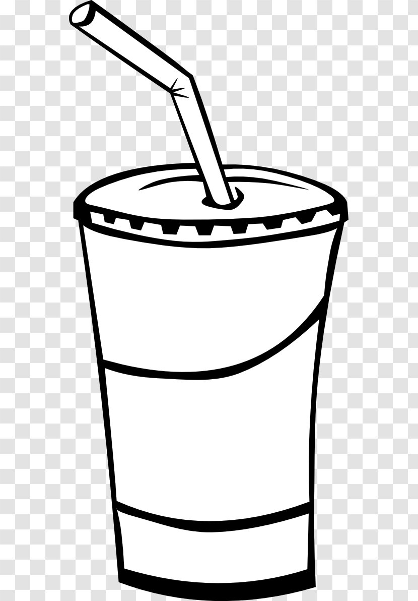 Fizzy Drinks Coca-Cola Diet Coke Non-alcoholic Drink Fast Food - Black And White Rainbow Clipart Transparent PNG