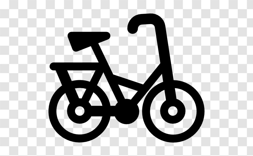 Bicycle Line Clip Art Black And White Transparent Png