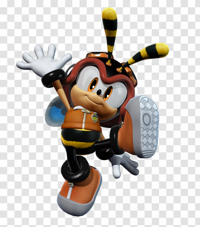 Sonic Heroes Charmy Bee Espio The Chameleon Shadow Hedgehog Knuckles Chaotix Technology Transparent Png