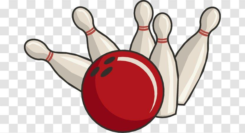 Bowling Pin Ball Ten-pin Clip Art - Free Content - Summer Cliparts Transparent PNG