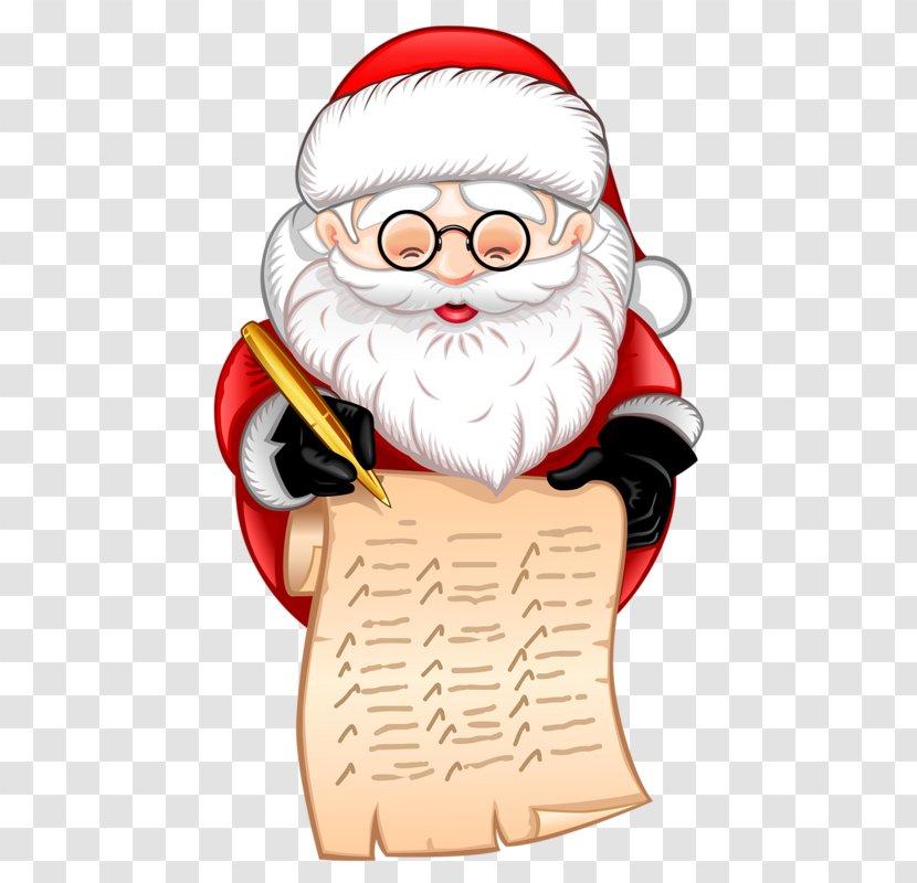 Santa Claus Pxe8re Noxebl Christmas Reindeer - Hand-painted Transparent PNG