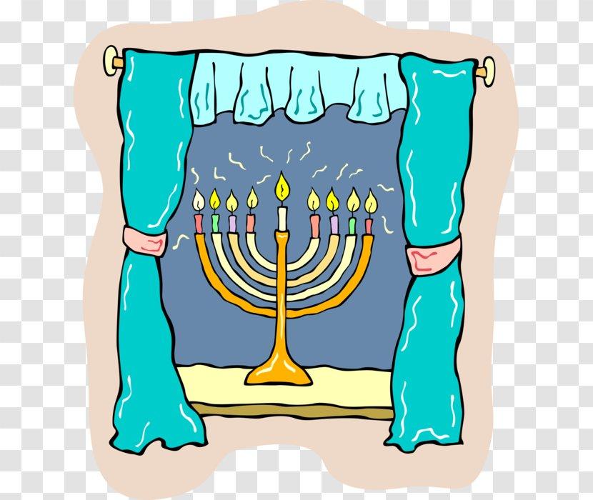 Clip Art Hanukkah Menorah Vector Graphics Judaism Candle Holder Kampung Frame Rumah Transparent Png