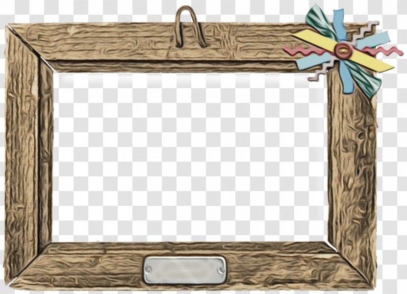 Wood Frame - Rectangle - Interior Design Picture Transparent PNG