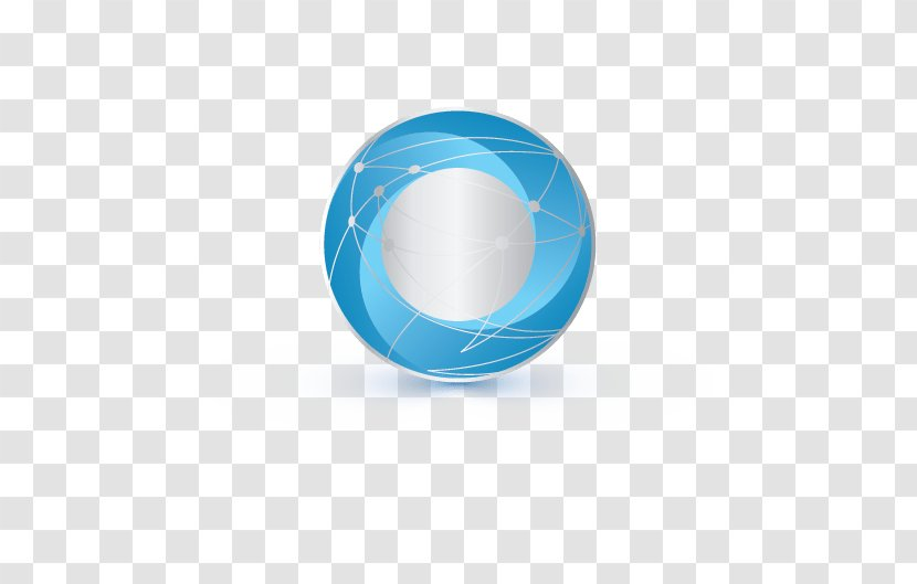 Turquoise Logosphere Circle - Sphere Transparent PNG
