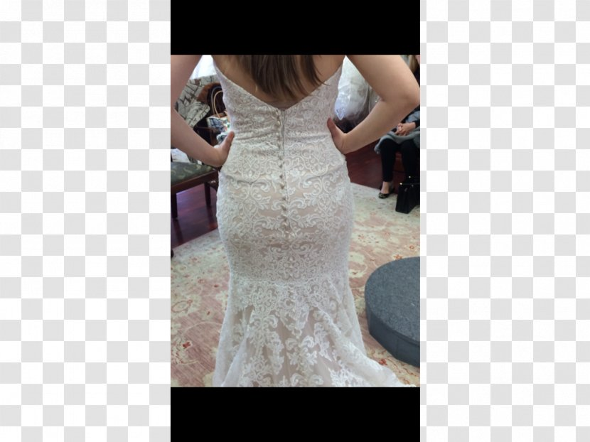 Wedding Dress Shoulder Cocktail Gown Transparent PNG