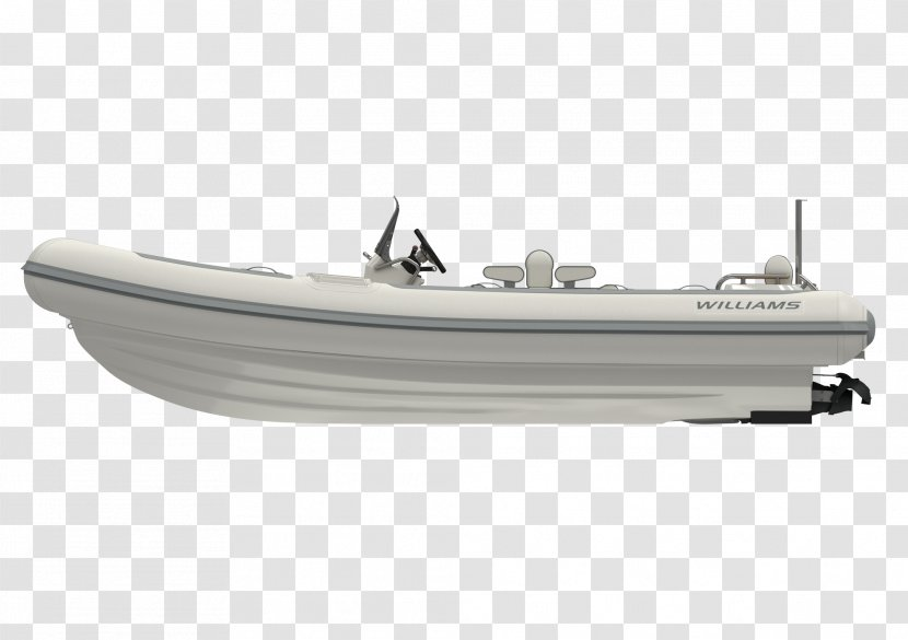Inflatable Boat Yacht Pump-jet Motor Boats - Center Console Transparent PNG