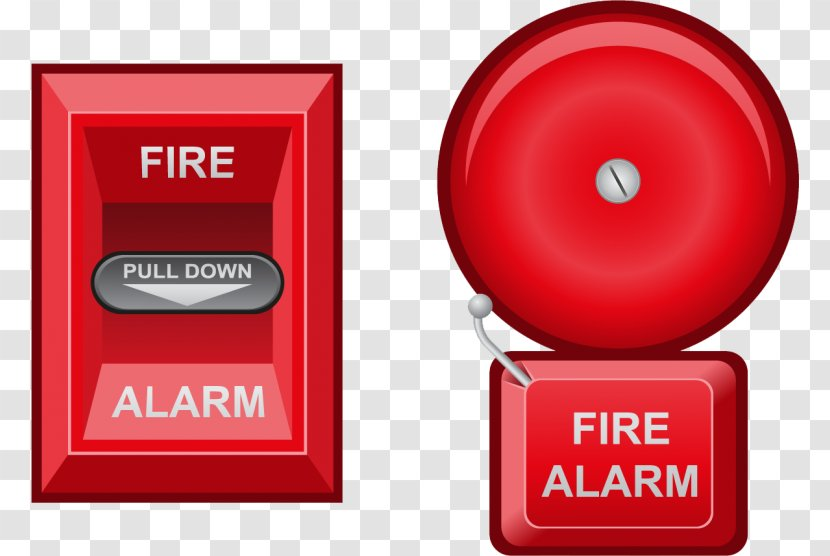 Fire Alarm System Security Alarms & Systems Device Protection Control Panel - Red Transparent PNG