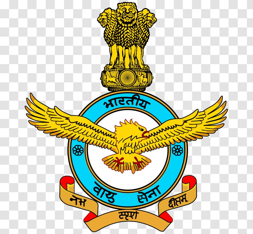 Indian Air Force Armed Forces Airman - Crest Transparent PNG