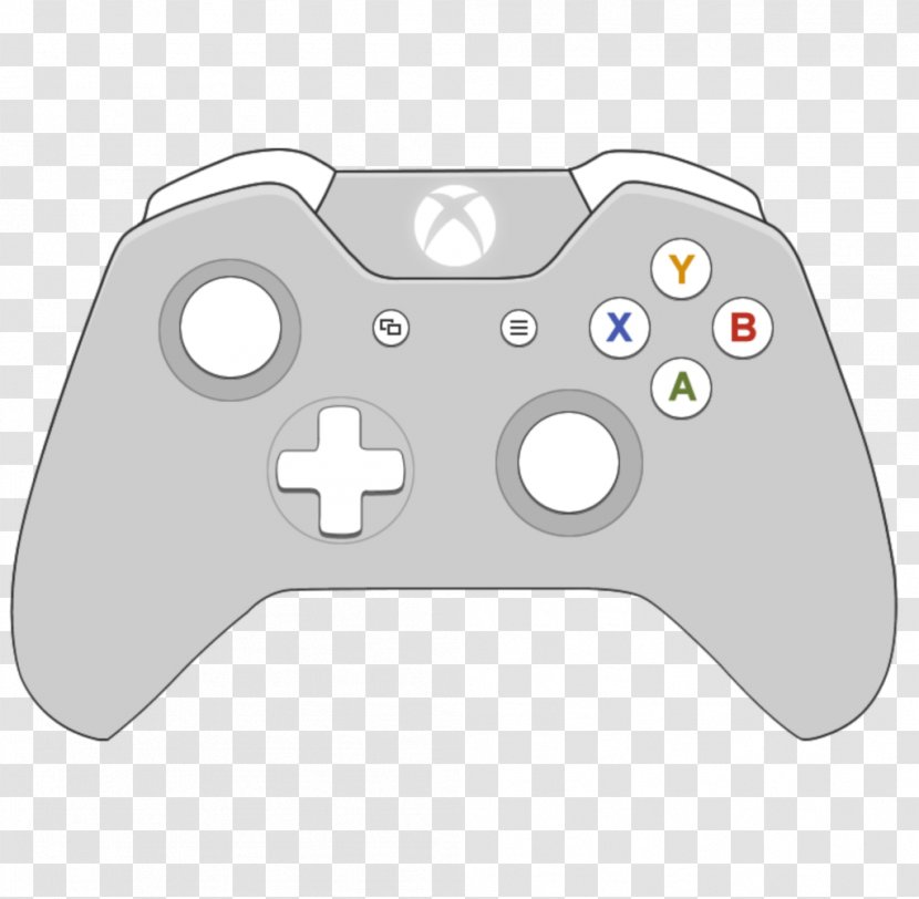 Xbox 360 Controller One Game Controllers - Wiring Diagram Transparent PNGPNGHUT
