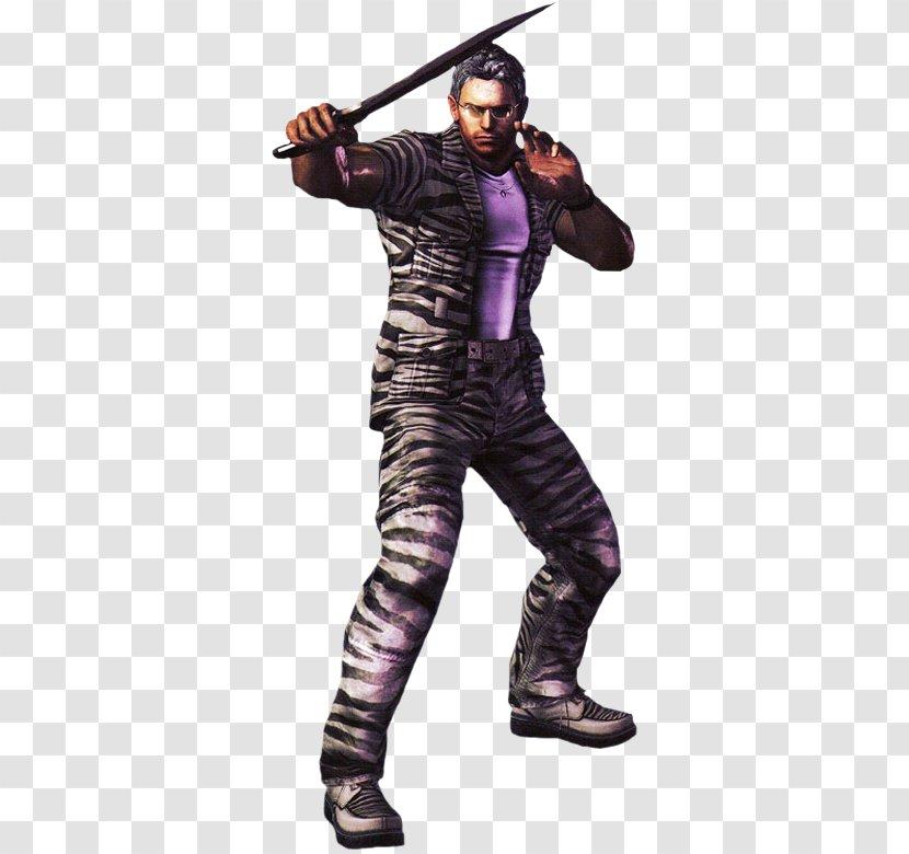 Resident Evil 5 Chris Redfield Albert Wesker 4 Playstation 3 Transparent Png