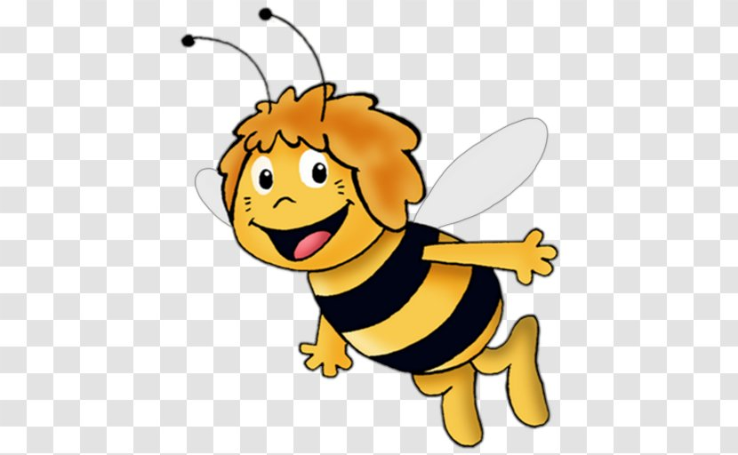 Maya The Bee Cartoon Television Show Pollinator Thumbs Clipart Transparent Png