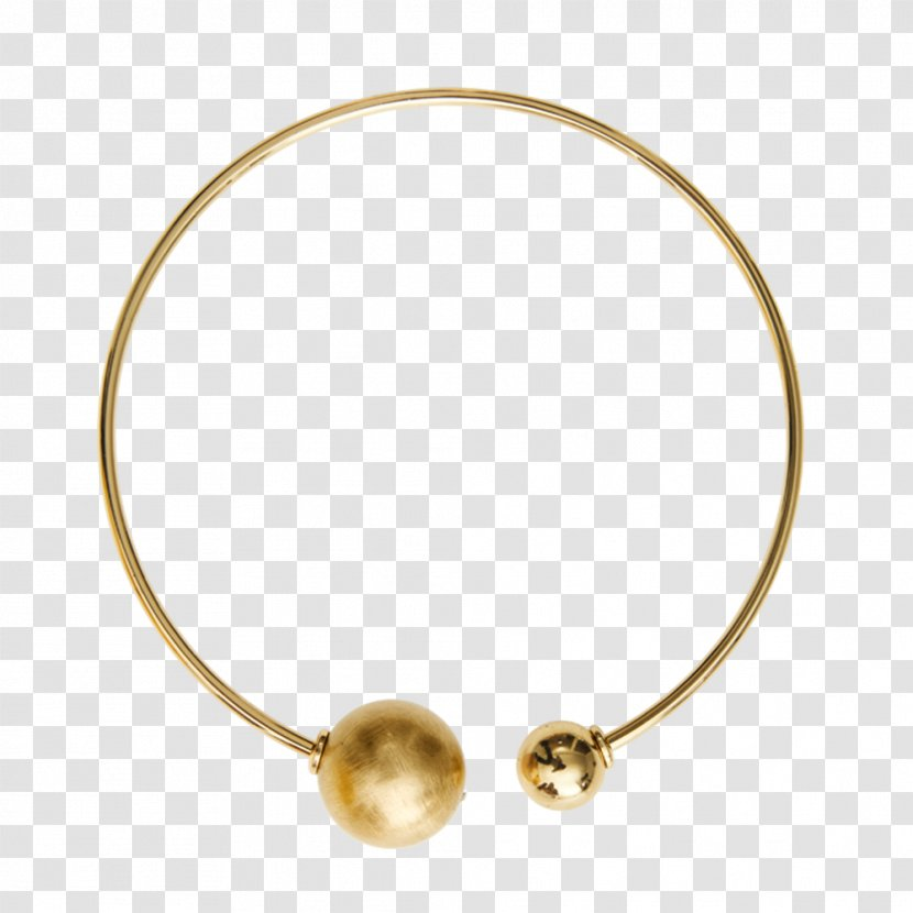 Pearl Bracelet Necklace Material Body Jewellery - Metal - Gold-plated Transparent PNG