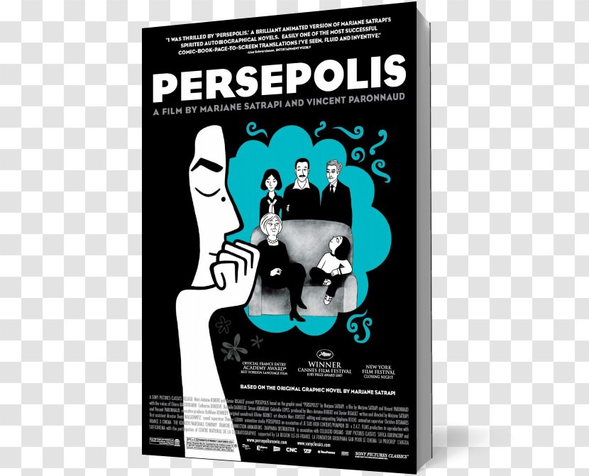 Persepolis Film Poster Director Animated Transparent Png