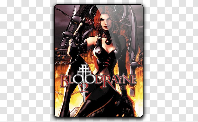 Bloodrayne 2 Video Game Ibm Pc Compatible Dvd Rom Bloodrayne