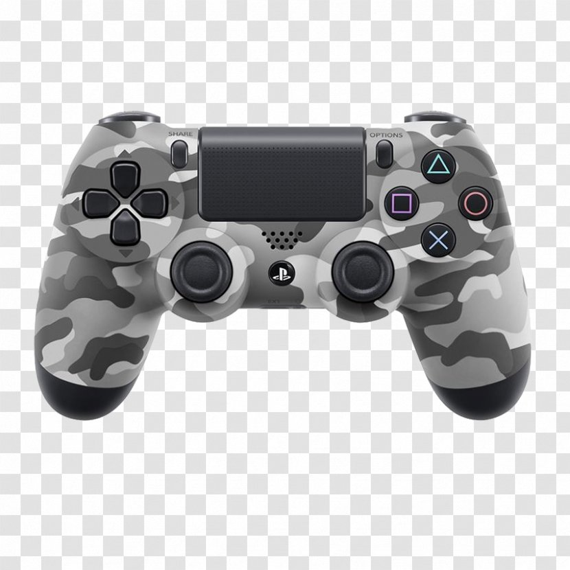 Playstation 4 Dualshock Game Controllers Portable Console Accessory Controller Transparent Png